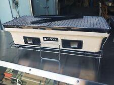 NEW LARGE JAPANESE / KOREAN CERAMIC HIBACHI BBQ BARBEQUE YAKITORI GRILL - Black