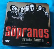 The Sopranos HBO Trivia 2004 Game By Cardinal In Tin Box - Unused