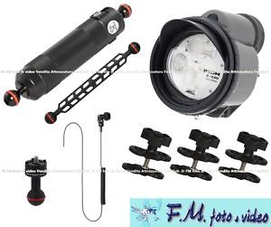 Kit Inon Z-330 Strobe & Inon Float Arm ML con Accessori Flex-Arm