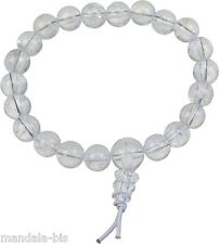 Bracelet Mala Tibétain - Cristal de Roche