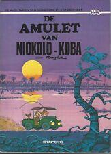Robbedoes en Kwabbernoot. De amulet van Niokolo-Koba.