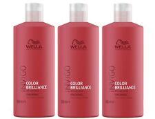 3x Wella Professionals Invigo Color Brilliance Shampoo fein/normal 500 ml