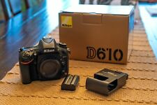 Nikon D610 DSLR Full Frame (FX) Camera - Excellent Condition! (Body Only)