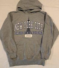 New York Empire State Building Hoodie Unisex Size Small Sweatshirt