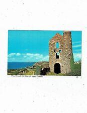 CORNISH TIN MINING POST CARD OF WHEAL FRIENDLY TIN MINE ST AGNES A5B