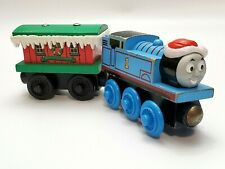 Thomas The Train Winter Caboose Wooden Christmas Thomas Train Magnetic Friends