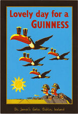"Guinness Beer Ad replica  13 x 19"" Photo Print"