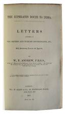 1871 Andrew - EUPHRATES VALLEY RAILWAY - No Copies Online - Mesopotamia