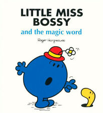 LITTLE MISS BOSSY and the magic word, By Roger Hargreaves - Children's Book