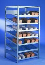 SCHRÄGBODENREGAL - 200x100x80 - Profi-Qualität - verzinkt - vom FACHHANDEL