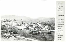 Vintage Real Photo PC; Historic Virginia City MT from Boot Hill Far West Studios