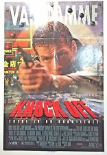 KNOCK OFF MOVIE POSTER(1998)