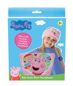 OTL Technologies Peppa Pig Rainbow Headband-Style Wired Headphones for Ages 3+