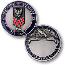 U.S. Navy / E-6 Petty Officer First Class - USN Challenge Coin