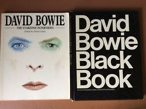 David Bowie Black Book+The Starzone  Interviews