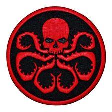 Hydra Octo-Skull Uniform Logo Iron-On Patch Marvel Comics Evil Agent Applique