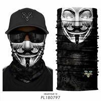 Bandana Schal Mund und Nasen Maske Halstuch Mundbedeckung Behelfsmundschutz Neu