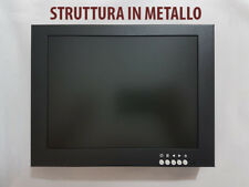 MONITOR 10 POLLICI HDMI BNC VGA STRUTTURA IN METALLO FULL HD 1080P VIDEOSORVEGL.
