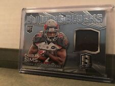 2014 Panini Spectra Building Blocks Charles Sims Buccaneers Jersey /199