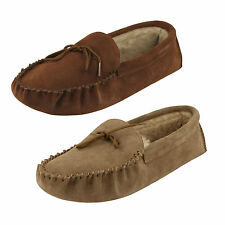 Men's Draper Slippers Warm Sheepskin Lined - Maine