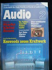 AUDIO 2/78,KENWOOD L 07C/M,KLEIN + HUMMEL FM 2002,THORENS TD 145 MK II,CRAFT AC