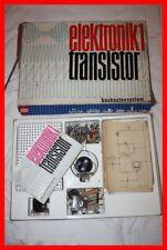 DDR Elektronik 1, Transistor Baukasten, Elektrobaukasten
