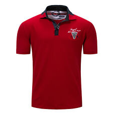 2018 New Mens Casual Cotton Short Sleeves Polo T-Shirts FKD160