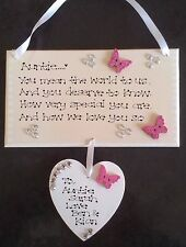 Personalised Special Aunt Auntie You Mean World Poem Love Thank You Gift Plaque