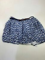 BNWT WOMENS TOMMY HILFIGER SIZE MEDIUM BLUE CASUAL SUMMER SHORT A LINE SKIRT