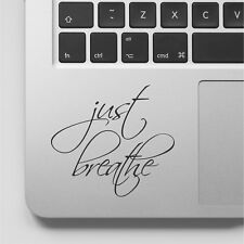 Wall Stickers custom just breathe yoga decal new for laptop car macbook