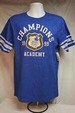 NEW Mens T Shirt Size Large Crew Neck Blue Sport Top Champions Casual Clothes
