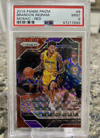 2016 Panini Red Mosaic Prizm #8 Brandon Ingram Lakers RC Rookie PSA 9
