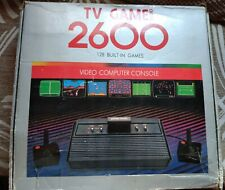 TV GAME 2600 ATARI CLONE COMPUTER CONSOLE TESTED WITH 32 GAMES