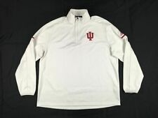 adidas Indiana Hoosiers - Men's White Clima-lite Pullover (XL) - Used