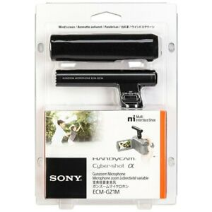 SONY Gun Zoom Microphone Support for multi-interface shoe ECM-GZ1M From Japan