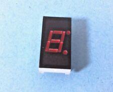 """1 LED DISPLAY DIGITAL 7 Segment 0.708"""" 11 Pin 1-BIT RED MAN72A 702D Numeric"""