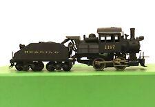 HO Scale Brass A5a Reading 0-4-0 Locomotive & Tender
