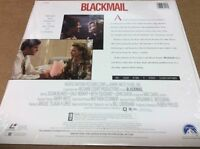 Blackmail Laserdisc SEALED BRAND NEW