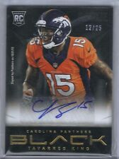 2013 Tavarres King Auto #'d to his college jersey #'d 12/25 Bulldogs Broncos