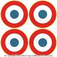 JAMAÏQUE Force Aérienne JAMAÏQUAIN Cocarde Sticker Autocollant 75mm x2