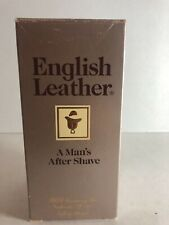 English Leather Men's After Shave 8 oz. MEM Company Vintage New in box