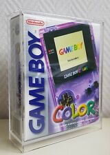 ☆ ☆ ☆ Gameboy Color Acrylic Display Case  ☆ ☆ ☆