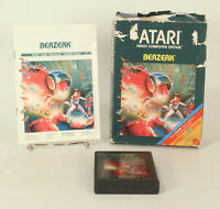 Vintage Boxed Atari 2600 game Berzerk Tested & Working