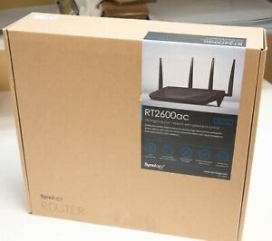 Synology RT2600ac 4x4 Dual-Band Gigabit Wi-Fi Router MU-MIMO mesh VPN Parent Ctl