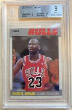 1987-88 FLEER Basketball Michael Jordan #59 BGS 9 MINT
