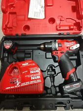 BRAND NEW Milwaukee M12 Fuel Hammer Drill Kit Model# 2504-22