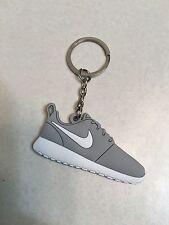 Nike Roshe Run Gray Silicone Keychain Sneaker Keychain