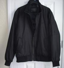 NWT Calvin Klein men's Ripstop Bomber Jacket size L black coat Water-Resistant
