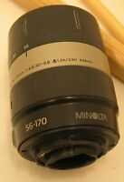Minolta Vectis 56-170 mm 1:4.2-5.6  Macro  Camera Lens