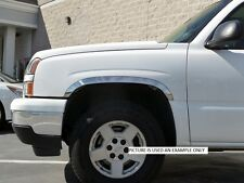FORD EXCURSION 3118 4 DR  Stainless Steel Fender Trim 2000-2005